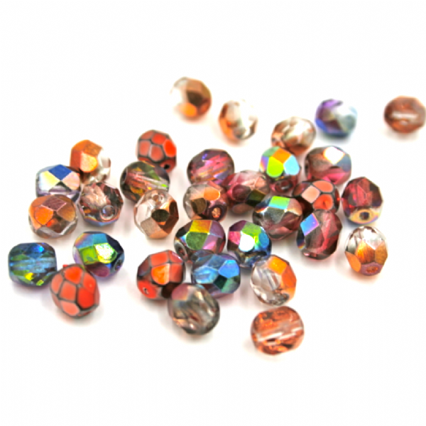 Czech Beads - Fire Polished
